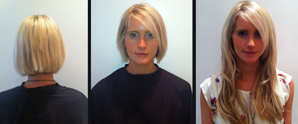Hair Extensions For Short Hair Before And After Uk Dallas